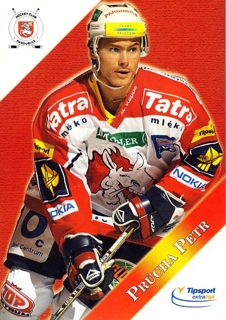 2003-04 Czech HC Pardubice Postcards #16 Petr Prucha<br/>2 In Stock - $3.00 each - <a href=https://centericecollectibles.foxycart.com/cart?name=2003-04%20Czech%20HC%20Pardubice%20Postcards%20%2316%20Petr%20Prucha...&quantity_max=2&price=$3.00&code=112798 class=foxycart> Buy it now! </a>