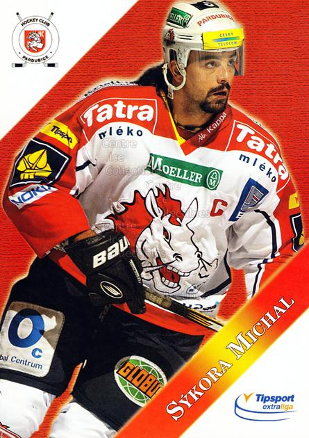 2003-04 Czech HC Pardubice Postcards #13 Michal Sykora<br/>3 In Stock - $3.00 each - <a href=https://centericecollectibles.foxycart.com/cart?name=2003-04%20Czech%20HC%20Pardubice%20Postcards%20%2313%20Michal%20Sykora...&quantity_max=3&price=$3.00&code=112799 class=foxycart> Buy it now! </a>