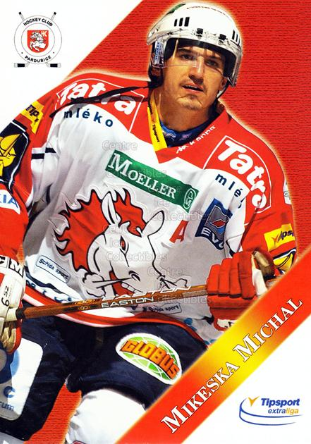 2003-04 Czech HC Pardubice Postcards #12 Michal Mikeska<br/>4 In Stock - $3.00 each - <a href=https://centericecollectibles.foxycart.com/cart?name=2003-04%20Czech%20HC%20Pardubice%20Postcards%20%2312%20Michal%20Mikeska...&quantity_max=4&price=$3.00&code=112804 class=foxycart> Buy it now! </a>