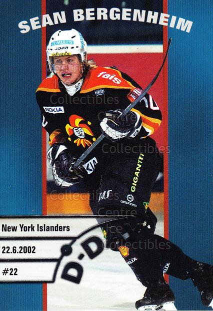 2003-04 Finnish Cardset D-Day #1 Sean Bergenheim<br/>5 In Stock - $3.00 each - <a href=https://centericecollectibles.foxycart.com/cart?name=2003-04%20Finnish%20Cardset%20D-Day%20%231%20Sean%20Bergenheim...&price=$3.00&code=112860 class=foxycart> Buy it now! </a>