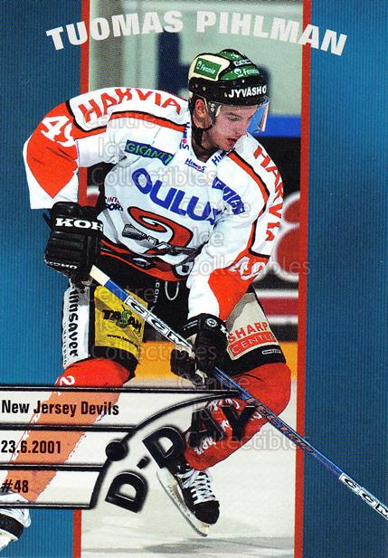 2003-04 Finnish Cardset D-Day #8 Tuomas Pihlman<br/>6 In Stock - $3.00 each - <a href=https://centericecollectibles.foxycart.com/cart?name=2003-04%20Finnish%20Cardset%20D-Day%20%238%20Tuomas%20Pihlman...&quantity_max=6&price=$3.00&code=112869 class=foxycart> Buy it now! </a>