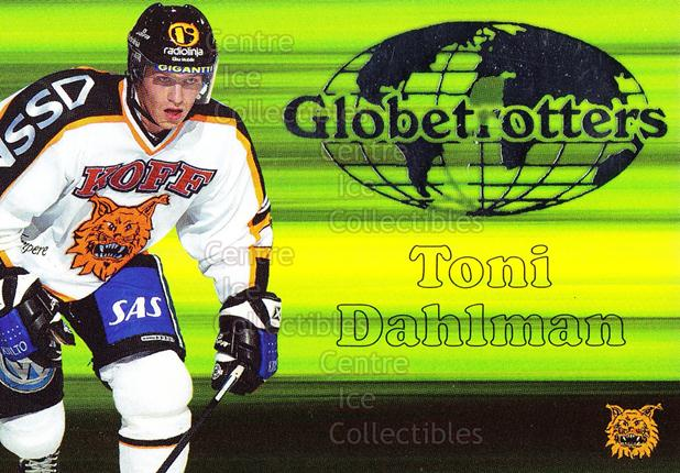2003-04 Finnish Cardset Globetrotters #1 Toni Dahlman<br/>3 In Stock - $3.00 each - <a href=https://centericecollectibles.foxycart.com/cart?name=2003-04%20Finnish%20Cardset%20Globetrotters%20%231%20Toni%20Dahlman...&quantity_max=3&price=$3.00&code=112871 class=foxycart> Buy it now! </a>