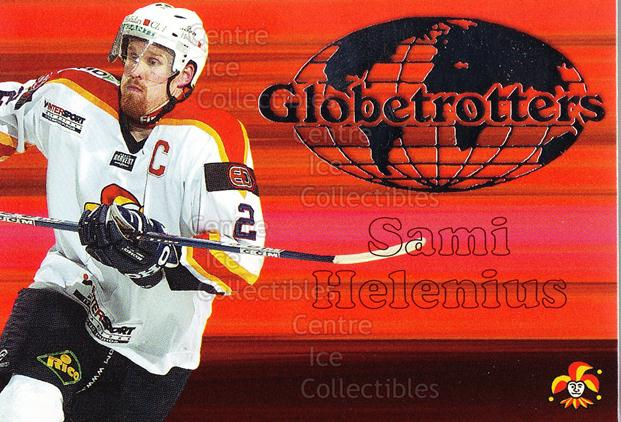 2003-04 Finnish Cardset Globetrotters #3 Sami Helenius<br/>4 In Stock - $3.00 each - <a href=https://centericecollectibles.foxycart.com/cart?name=2003-04%20Finnish%20Cardset%20Globetrotters%20%233%20Sami%20Helenius...&price=$3.00&code=112872 class=foxycart> Buy it now! </a>