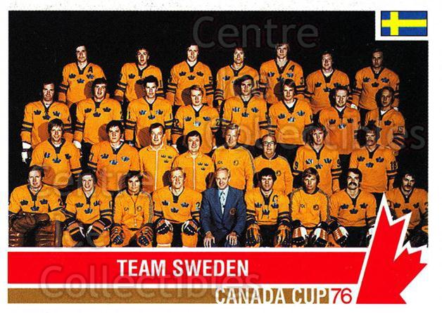 1992 Future Trends Canada Cup 1976 #119 Team Sweden, Team Photo<br/>12 In Stock - $1.00 each - <a href=https://centericecollectibles.foxycart.com/cart?name=1992%20Future%20Trends%20Canada%20Cup%201976%20%23119%20Team%20Sweden,%20Te...&price=$1.00&code=11348 class=foxycart> Buy it now! </a>