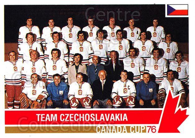 1992 Future Trends Canada Cup 1976 #120 Team Czech, Team Photo<br/>12 In Stock - $2.00 each - <a href=https://centericecollectibles.foxycart.com/cart?name=1992%20Future%20Trends%20Canada%20Cup%201976%20%23120%20Team%20Czech,%20Tea...&price=$2.00&code=11349 class=foxycart> Buy it now! </a>