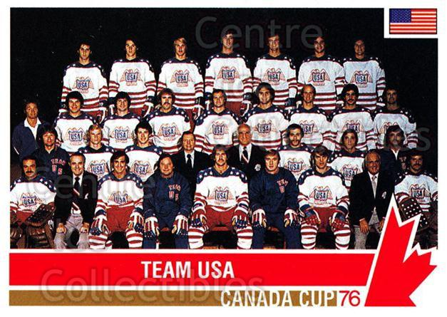 1992 Future Trends Canada Cup 1976 #122 Team USA, Team Photo<br/>20 In Stock - $1.00 each - <a href=https://centericecollectibles.foxycart.com/cart?name=1992%20Future%20Trends%20Canada%20Cup%201976%20%23122%20Team%20USA,%20Team%20...&price=$1.00&code=11351 class=foxycart> Buy it now! </a>