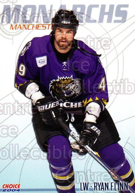 2003-04 Manchester Monarchs #3 Ryan Flinn<br/>6 In Stock - $3.00 each - <a href=https://centericecollectibles.foxycart.com/cart?name=2003-04%20Manchester%20Monarchs%20%233%20Ryan%20Flinn...&quantity_max=6&price=$3.00&code=113655 class=foxycart> Buy it now! </a>