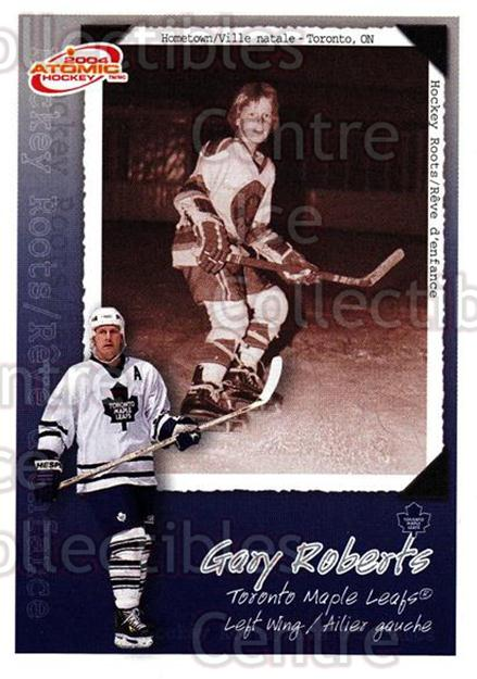 2003-04 McDonalds Pacific Hockey Roots Checklists #10 Gary Roberts<br/>4 In Stock - $1.00 each - <a href=https://centericecollectibles.foxycart.com/cart?name=2003-04%20McDonalds%20Pacific%20Hockey%20Roots%20Checklists%20%2310%20Gary%20Roberts...&quantity_max=4&price=$1.00&code=113683 class=foxycart> Buy it now! </a>