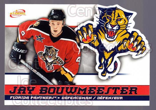 2003-04 McDonalds Pacific #24 Jay Bouwmeester<br/>5 In Stock - $1.00 each - <a href=https://centericecollectibles.foxycart.com/cart?name=2003-04%20McDonalds%20Pacific%20%2324%20Jay%20Bouwmeester...&quantity_max=5&price=$1.00&code=113713 class=foxycart> Buy it now! </a>
