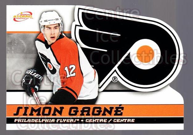 2003-04 McDonalds Pacific #38 Simon Gagne<br/>5 In Stock - $1.00 each - <a href=https://centericecollectibles.foxycart.com/cart?name=2003-04%20McDonalds%20Pacific%20%2338%20Simon%20Gagne...&quantity_max=5&price=$1.00&code=113728 class=foxycart> Buy it now! </a>