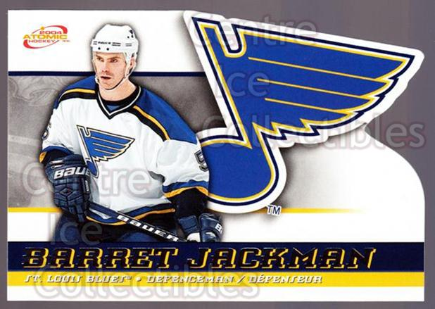 2003-04 McDonalds Pacific #42 Barret Jackman<br/>7 In Stock - $1.00 each - <a href=https://centericecollectibles.foxycart.com/cart?name=2003-04%20McDonalds%20Pacific%20%2342%20Barret%20Jackman...&quantity_max=7&price=$1.00&code=113732 class=foxycart> Buy it now! </a>
