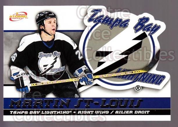 2003-04 McDonalds Pacific #45 Martin St. Louis<br/>8 In Stock - $1.00 each - <a href=https://centericecollectibles.foxycart.com/cart?name=2003-04%20McDonalds%20Pacific%20%2345%20Martin%20St.%20Loui...&quantity_max=8&price=$1.00&code=113735 class=foxycart> Buy it now! </a>