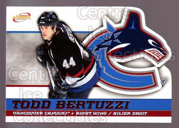 2003-04 McDonalds Pacific #51 Todd Bertuzzi<br/>4 In Stock - $1.00 each - <a href=https://centericecollectibles.foxycart.com/cart?name=2003-04%20McDonalds%20Pacific%20%2351%20Todd%20Bertuzzi...&quantity_max=4&price=$1.00&code=113742 class=foxycart> Buy it now! </a>