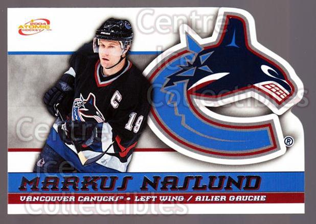 2003-04 McDonalds Pacific #54 Markus Naslund<br/>6 In Stock - $1.00 each - <a href=https://centericecollectibles.foxycart.com/cart?name=2003-04%20McDonalds%20Pacific%20%2354%20Markus%20Naslund...&quantity_max=6&price=$1.00&code=113745 class=foxycart> Buy it now! </a>