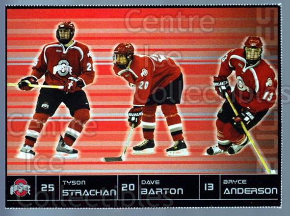 2003-04 Ohio State Buckeyes #19 Bryce Anderson, Tyson Strachan, Dave Barton<br/>6 In Stock - $3.00 each - <a href=https://centericecollectibles.foxycart.com/cart?name=2003-04%20Ohio%20State%20Buckeyes%20%2319%20Bryce%20Anderson,...&quantity_max=6&price=$3.00&code=113927 class=foxycart> Buy it now! </a>