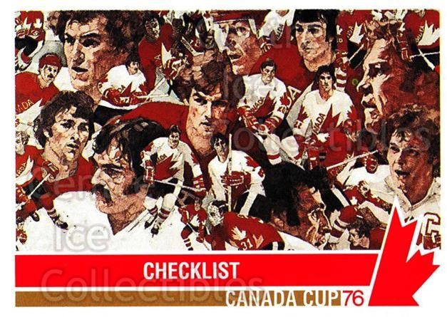 1992 Future Trends Canada Cup 1976 #201 Team Canada, Vladimir Dzurilla, Bobby Orr<br/>13 In Stock - $2.00 each - <a href=https://centericecollectibles.foxycart.com/cart?name=1992%20Future%20Trends%20Canada%20Cup%201976%20%23201%20Team%20Canada,%20Vl...&price=$2.00&code=11421 class=foxycart> Buy it now! </a>