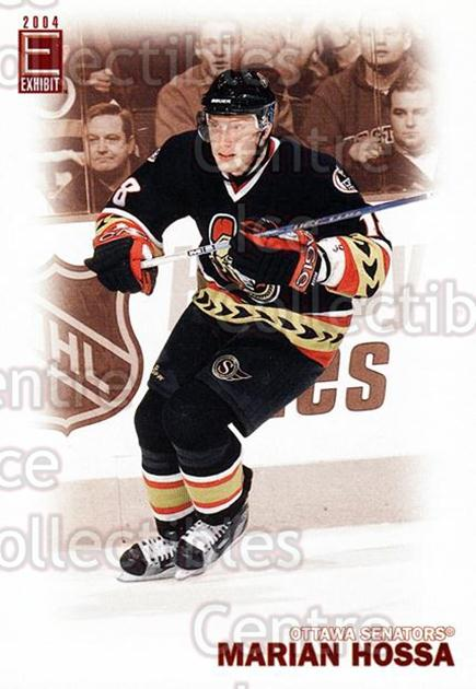 2003-04 Pacific Exhibit #183 Marian Hossa<br/>1 In Stock - $2.00 each - <a href=https://centericecollectibles.foxycart.com/cart?name=2003-04%20Pacific%20Exhibit%20%23183%20Marian%20Hossa...&quantity_max=1&price=$2.00&code=115013 class=foxycart> Buy it now! </a>