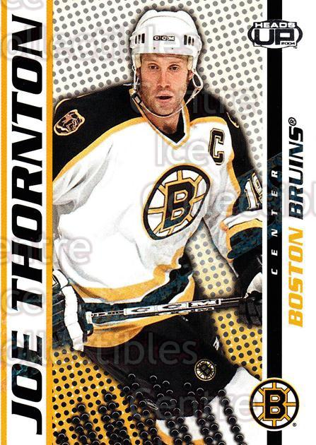 2003-04 Heads-Up Hobby LTD #10 Joe Thornton<br/>3 In Stock - $3.00 each - <a href=https://centericecollectibles.foxycart.com/cart?name=2003-04%20Heads-Up%20Hobby%20LTD%20%2310%20Joe%20Thornton...&quantity_max=3&price=$3.00&code=115081 class=foxycart> Buy it now! </a>