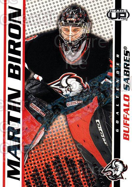 2003-04 Heads-Up Hobby LTD #11 Martin Biron<br/>3 In Stock - $3.00 each - <a href=https://centericecollectibles.foxycart.com/cart?name=2003-04%20Heads-Up%20Hobby%20LTD%20%2311%20Martin%20Biron...&quantity_max=3&price=$3.00&code=115092 class=foxycart> Buy it now! </a>