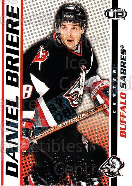 2003-04 Heads-Up Hobby LTD #12 Daniel Briere<br/>3 In Stock - $3.00 each - <a href=https://centericecollectibles.foxycart.com/cart?name=2003-04%20Heads-Up%20Hobby%20LTD%20%2312%20Daniel%20Briere...&quantity_max=3&price=$3.00&code=115103 class=foxycart> Buy it now! </a>