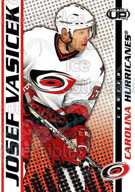 2003-04 Heads-Up Hobby LTD #18 Josef Vasicek<br/>2 In Stock - $3.00 each - <a href=https://centericecollectibles.foxycart.com/cart?name=2003-04%20Heads-Up%20Hobby%20LTD%20%2318%20Josef%20Vasicek...&quantity_max=2&price=$3.00&code=115123 class=foxycart> Buy it now! </a>