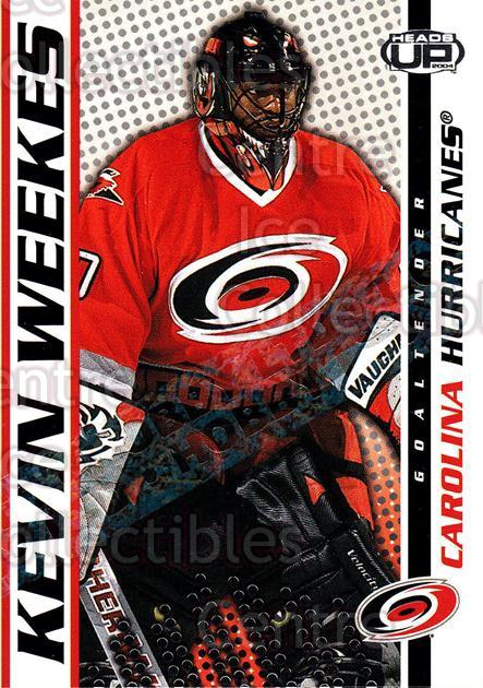 2003-04 Heads-Up Hobby LTD #19 Kevin Weekes<br/>3 In Stock - $3.00 each - <a href=https://centericecollectibles.foxycart.com/cart?name=2003-04%20Heads-Up%20Hobby%20LTD%20%2319%20Kevin%20Weekes...&quantity_max=3&price=$3.00&code=115124 class=foxycart> Buy it now! </a>