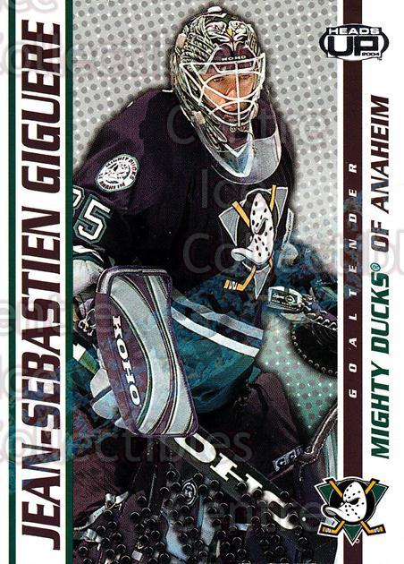 2003-04 Heads-Up Hobby LTD #2 Jean-Sebastien Giguere<br/>2 In Stock - $3.00 each - <a href=https://centericecollectibles.foxycart.com/cart?name=2003-04%20Heads-Up%20Hobby%20LTD%20%232%20Jean-Sebastien%20...&quantity_max=2&price=$3.00&code=115125 class=foxycart> Buy it now! </a>
