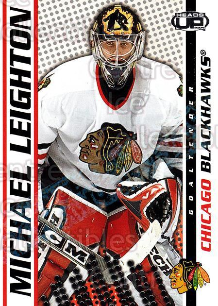 2003-04 Heads-Up Hobby LTD #21 Michael Leighton<br/>2 In Stock - $3.00 each - <a href=https://centericecollectibles.foxycart.com/cart?name=2003-04%20Heads-Up%20Hobby%20LTD%20%2321%20Michael%20Leighto...&quantity_max=2&price=$3.00&code=115127 class=foxycart> Buy it now! </a>