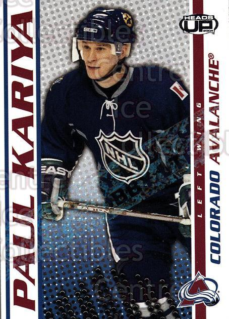2003-04 Heads-Up Hobby LTD #25 Paul Kariya<br/>3 In Stock - $3.00 each - <a href=https://centericecollectibles.foxycart.com/cart?name=2003-04%20Heads-Up%20Hobby%20LTD%20%2325%20Paul%20Kariya...&quantity_max=3&price=$3.00&code=115129 class=foxycart> Buy it now! </a>