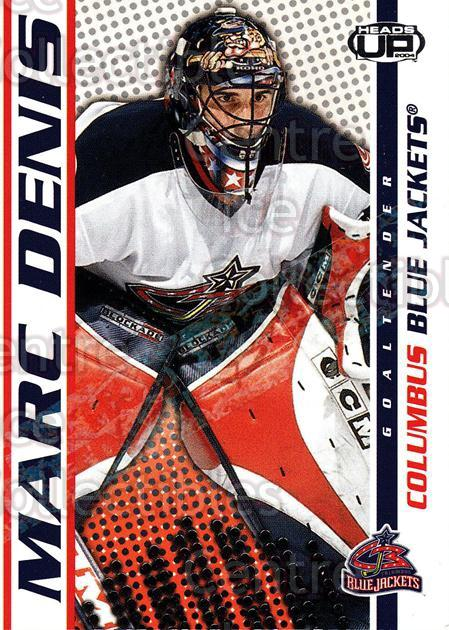 2003-04 Heads-Up Hobby LTD #28 Marc Denis<br/>3 In Stock - $3.00 each - <a href=https://centericecollectibles.foxycart.com/cart?name=2003-04%20Heads-Up%20Hobby%20LTD%20%2328%20Marc%20Denis...&quantity_max=3&price=$3.00&code=115130 class=foxycart> Buy it now! </a>