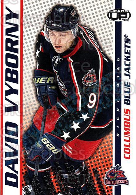 2003-04 Heads-Up Hobby LTD #30 David Vyborny<br/>2 In Stock - $3.00 each - <a href=https://centericecollectibles.foxycart.com/cart?name=2003-04%20Heads-Up%20Hobby%20LTD%20%2330%20David%20Vyborny...&quantity_max=2&price=$3.00&code=115132 class=foxycart> Buy it now! </a>