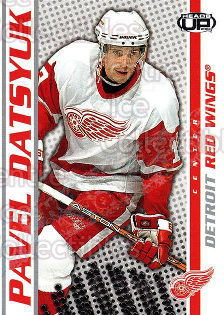 2003-04 Heads-Up Hobby LTD #34 Pavel Datsyuk<br/>3 In Stock - $5.00 each - <a href=https://centericecollectibles.foxycart.com/cart?name=2003-04%20Heads-Up%20Hobby%20LTD%20%2334%20Pavel%20Datsyuk...&quantity_max=3&price=$5.00&code=115134 class=foxycart> Buy it now! </a>