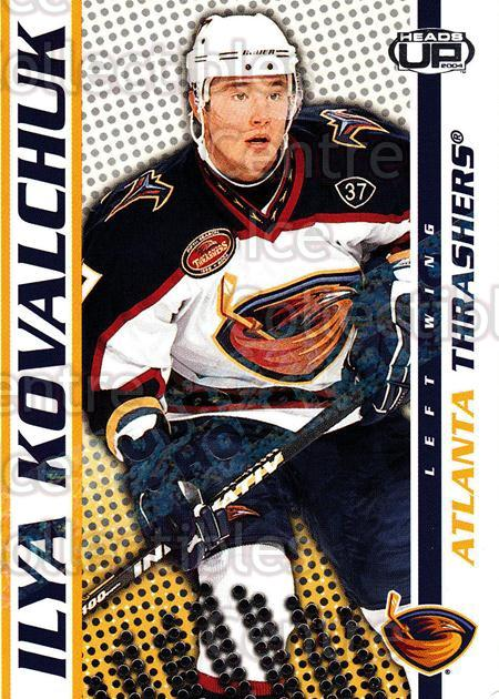 2003-04 Heads-Up Hobby LTD #4 Ilya Kovalchuk<br/>2 In Stock - $3.00 each - <a href=https://centericecollectibles.foxycart.com/cart?name=2003-04%20Heads-Up%20Hobby%20LTD%20%234%20Ilya%20Kovalchuk...&quantity_max=2&price=$3.00&code=115137 class=foxycart> Buy it now! </a>