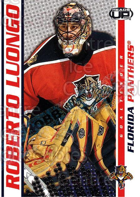 2003-04 Heads-Up Hobby LTD #45 Roberto Luongo<br/>3 In Stock - $3.00 each - <a href=https://centericecollectibles.foxycart.com/cart?name=2003-04%20Heads-Up%20Hobby%20LTD%20%2345%20Roberto%20Luongo...&quantity_max=3&price=$3.00&code=115139 class=foxycart> Buy it now! </a>