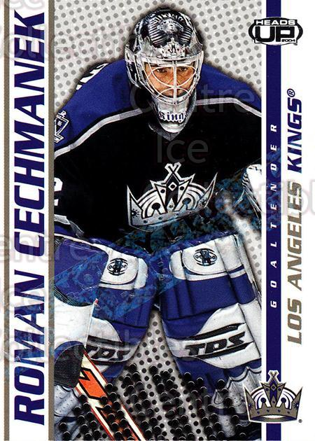 2003-04 Heads-Up Hobby LTD #46 Roman Cechmanek<br/>1 In Stock - $3.00 each - <a href=https://centericecollectibles.foxycart.com/cart?name=2003-04%20Heads-Up%20Hobby%20LTD%20%2346%20Roman%20Cechmanek...&quantity_max=1&price=$3.00&code=115140 class=foxycart> Buy it now! </a>