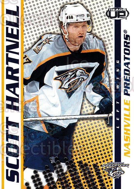 2003-04 Heads-Up Hobby LTD #56 Scott Hartnell<br/>3 In Stock - $3.00 each - <a href=https://centericecollectibles.foxycart.com/cart?name=2003-04%20Heads-Up%20Hobby%20LTD%20%2356%20Scott%20Hartnell...&quantity_max=3&price=$3.00&code=115148 class=foxycart> Buy it now! </a>