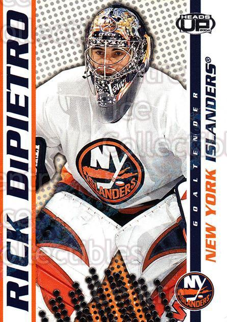 2003-04 Heads-Up Hobby LTD #62 Rick DiPietro<br/>3 In Stock - $3.00 each - <a href=https://centericecollectibles.foxycart.com/cart?name=2003-04%20Heads-Up%20Hobby%20LTD%20%2362%20Rick%20DiPietro...&quantity_max=3&price=$3.00&code=115153 class=foxycart> Buy it now! </a>