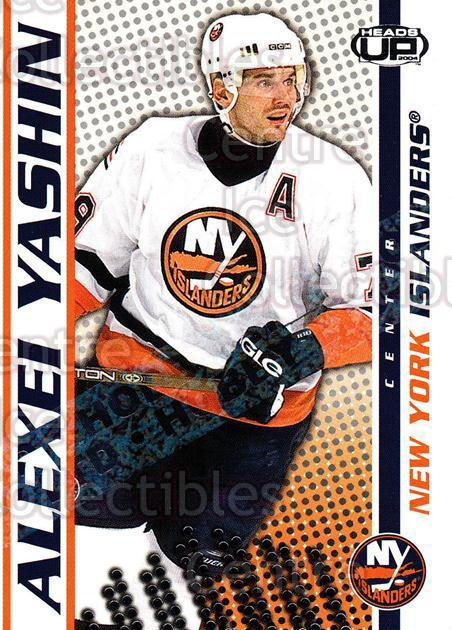 2003-04 Heads-Up Hobby LTD #64 Alexei Yashin<br/>3 In Stock - $3.00 each - <a href=https://centericecollectibles.foxycart.com/cart?name=2003-04%20Heads-Up%20Hobby%20LTD%20%2364%20Alexei%20Yashin...&quantity_max=3&price=$3.00&code=115154 class=foxycart> Buy it now! </a>