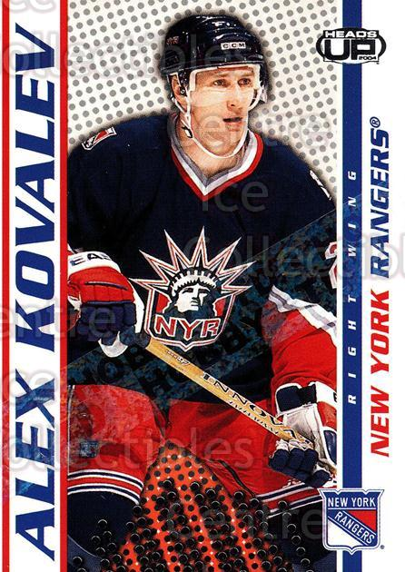 2003-04 Heads-Up Hobby LTD #65 Alexei Kovalev<br/>3 In Stock - $3.00 each - <a href=https://centericecollectibles.foxycart.com/cart?name=2003-04%20Heads-Up%20Hobby%20LTD%20%2365%20Alexei%20Kovalev...&quantity_max=3&price=$3.00&code=115155 class=foxycart> Buy it now! </a>