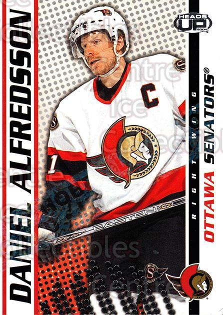 2003-04 Heads-Up Hobby LTD #68 Daniel Alfredsson<br/>3 In Stock - $3.00 each - <a href=https://centericecollectibles.foxycart.com/cart?name=2003-04%20Heads-Up%20Hobby%20LTD%20%2368%20Daniel%20Alfredss...&quantity_max=3&price=$3.00&code=115157 class=foxycart> Buy it now! </a>