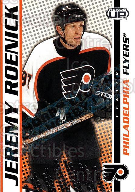 2003-04 Heads-Up Hobby LTD #74 Jeremy Roenick<br/>2 In Stock - $3.00 each - <a href=https://centericecollectibles.foxycart.com/cart?name=2003-04%20Heads-Up%20Hobby%20LTD%20%2374%20Jeremy%20Roenick...&quantity_max=2&price=$3.00&code=115162 class=foxycart> Buy it now! </a>
