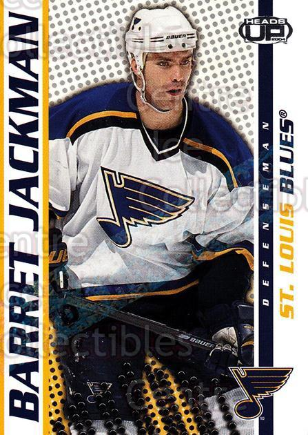 2003-04 Heads-Up Hobby LTD #80 Barret Jackman<br/>3 In Stock - $3.00 each - <a href=https://centericecollectibles.foxycart.com/cart?name=2003-04%20Heads-Up%20Hobby%20LTD%20%2380%20Barret%20Jackman...&quantity_max=3&price=$3.00&code=115166 class=foxycart> Buy it now! </a>