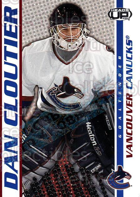 2003-04 Heads-Up Hobby LTD #95 Dan Cloutier<br/>3 In Stock - $3.00 each - <a href=https://centericecollectibles.foxycart.com/cart?name=2003-04%20Heads-Up%20Hobby%20LTD%20%2395%20Dan%20Cloutier...&quantity_max=3&price=$3.00&code=115176 class=foxycart> Buy it now! </a>