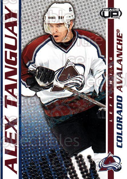 2003-04 Heads-Up Hobby LTD #27 Alex Tanguay<br/>4 In Stock - $3.00 each - <a href=https://centericecollectibles.foxycart.com/cart?name=2003-04%20Heads-Up%20Hobby%20LTD%20%2327%20Alex%20Tanguay...&quantity_max=4&price=$3.00&code=115183 class=foxycart> Buy it now! </a>
