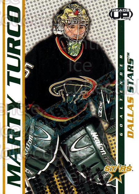 2003-04 Heads-Up Hobby LTD #33 Marty Turco<br/>5 In Stock - $3.00 each - <a href=https://centericecollectibles.foxycart.com/cart?name=2003-04%20Heads-Up%20Hobby%20LTD%20%2333%20Marty%20Turco...&quantity_max=5&price=$3.00&code=115186 class=foxycart> Buy it now! </a>