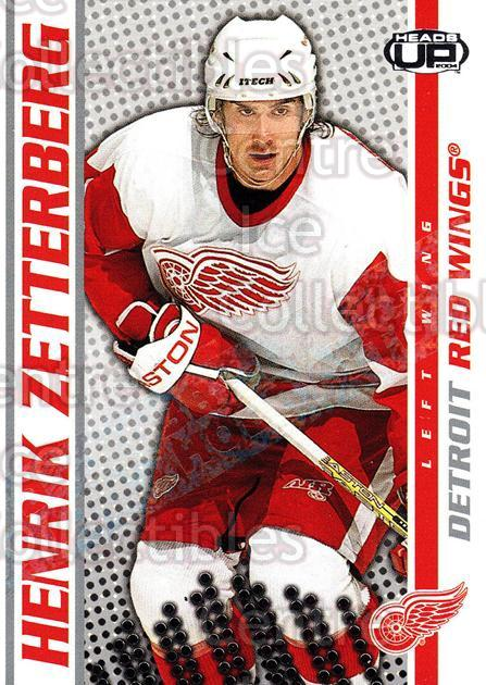 2003-04 Heads-Up Hobby LTD #39 Henrik Zetterberg<br/>2 In Stock - $5.00 each - <a href=https://centericecollectibles.foxycart.com/cart?name=2003-04%20Heads-Up%20Hobby%20LTD%20%2339%20Henrik%20Zetterbe...&quantity_max=2&price=$5.00&code=115187 class=foxycart> Buy it now! </a>