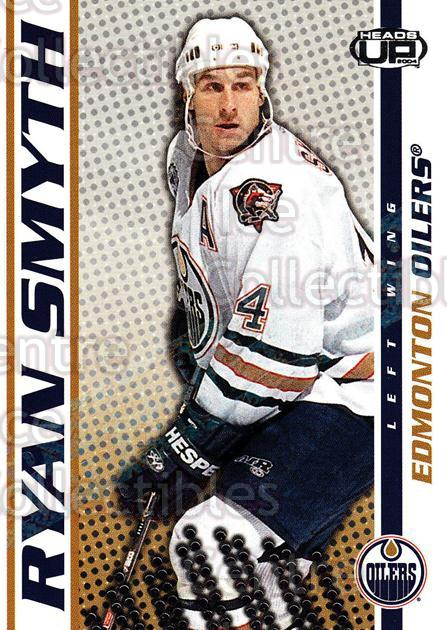 2003-04 Heads-Up Hobby LTD #42 Ryan Smyth<br/>3 In Stock - $3.00 each - <a href=https://centericecollectibles.foxycart.com/cart?name=2003-04%20Heads-Up%20Hobby%20LTD%20%2342%20Ryan%20Smyth...&quantity_max=3&price=$3.00&code=115189 class=foxycart> Buy it now! </a>