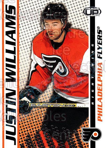 2003-04 Heads-Up Hobby LTD #75 Justin Williams<br/>4 In Stock - $3.00 each - <a href=https://centericecollectibles.foxycart.com/cart?name=2003-04%20Heads-Up%20Hobby%20LTD%20%2375%20Justin%20Williams...&quantity_max=4&price=$3.00&code=115200 class=foxycart> Buy it now! </a>