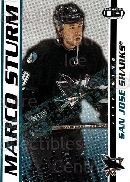 2003-04 Heads-Up Hobby LTD #85 Marco Sturm<br/>2 In Stock - $3.00 each - <a href=https://centericecollectibles.foxycart.com/cart?name=2003-04%20Heads-Up%20Hobby%20LTD%20%2385%20Marco%20Sturm...&quantity_max=2&price=$3.00&code=115204 class=foxycart> Buy it now! </a>