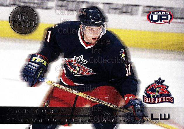 2003-04 Heads-Up In Focus #6 Rick Nash<br/>3 In Stock - $3.00 each - <a href=https://centericecollectibles.foxycart.com/cart?name=2003-04%20Heads-Up%20In%20Focus%20%236%20Rick%20Nash...&quantity_max=3&price=$3.00&code=115210 class=foxycart> Buy it now! </a>